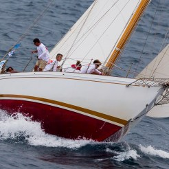 Cannes, France, 24 September 2014 Panerai Classic Yacht Challenge 2014 Regates Royales 2014 Amadour Ph: Guido Cantini/Panerai/Sea&See.com