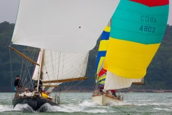 Cowes, Isle of Wight, UK, 20 July 2015 Panerai Classic Yacht Challenge 2015 British Classic Week 2015 Infanta and Illiria Ph: Guido Cantini /Panerai