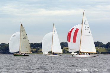 NOR-33 Sira, J-1 Aun, GER-9 Germania III, 8-Metre World Cup, Flensburg, 2011.