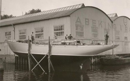 The S&S Yawl, Germania VI, launched in 1963