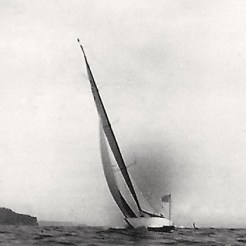 Finish of Teignmouth Regatta, 1939
