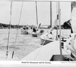 Bound for Beaumaris (about 1960)