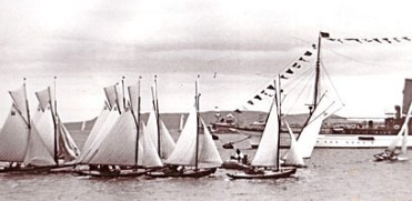 Royal Irish Yacht Club regatta of 1909