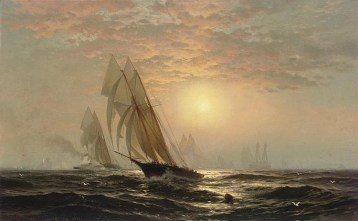The Madeleines victory over the Countess of Dufferin third America's Cup challenger August 11th 1876