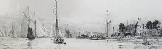 Royal Yacht Squadron, Cowes, Isle of Wight
