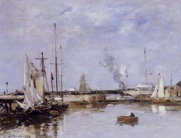 The lock at Trouville