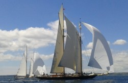 Light airs for the first day of the Pendennis Cup - Mariette & Kelpie of Falmouth