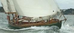 Sailing off Brest