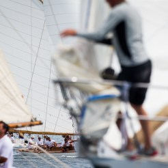 Argentario sailing Week 2016 Maria in the background