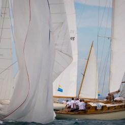 Argentario sailing Week 2016 Maria and Jalina at the mark