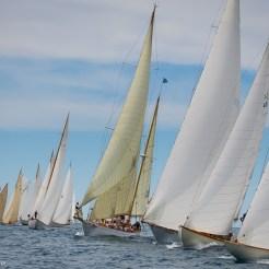 Argentario sailing Week 2016 Start with Eilean in the center