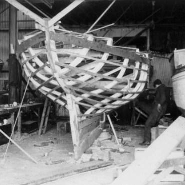 Shemdra under construction in 1962