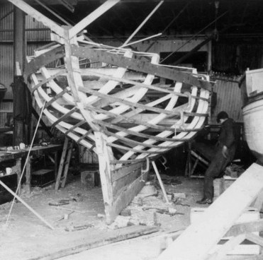 Shemdra under construction in 1962