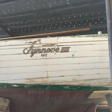 Synnove III in Cantiere dell' Argentario, March, 2017