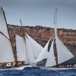 Olympian with Nordwind and Kelpie in the background XIV Copa del Rey - Panerai 2017 Ph: Guido Cantini / Panerai