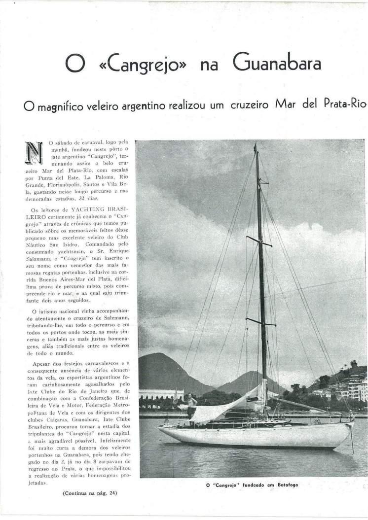 Cangrejo history