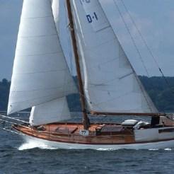 Catjana under sail