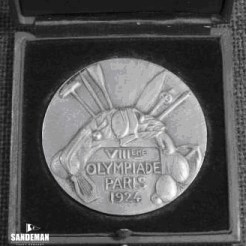 Emily Olympic silver medal