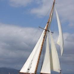 Merrymaid under sail