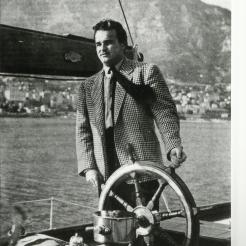 Prince Rainer at the helm in the mid 50's