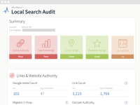 Local SEO Search Audit Results