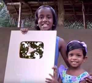 youtube 1 million srilanka user