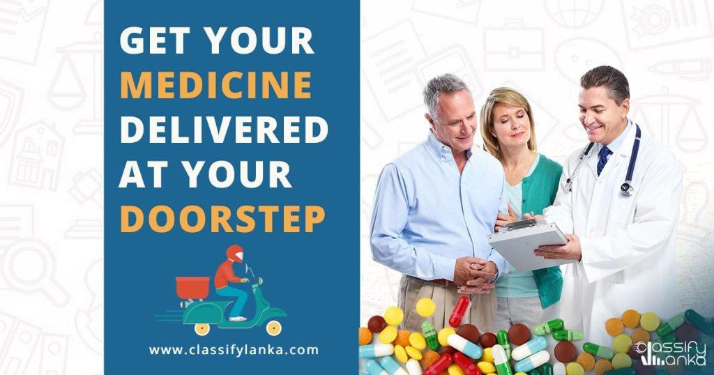 medicine delivery in Sri Lanka