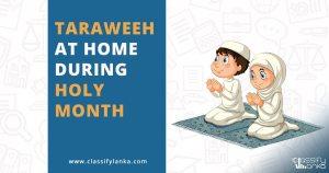 pray taraweeh at home sri lanka