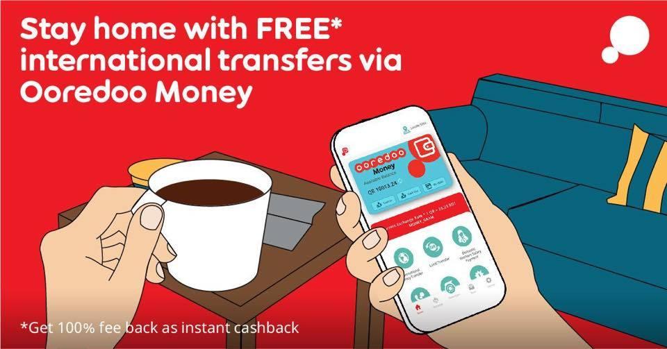 ooredoo money qatar cashback promo ad 1