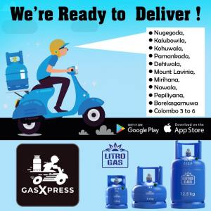 Litro Gas Home Delivery Colombo