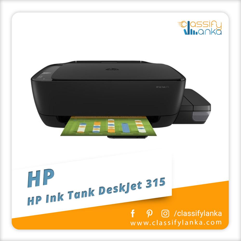 HP Ink Tank DeskJet 315 All In One