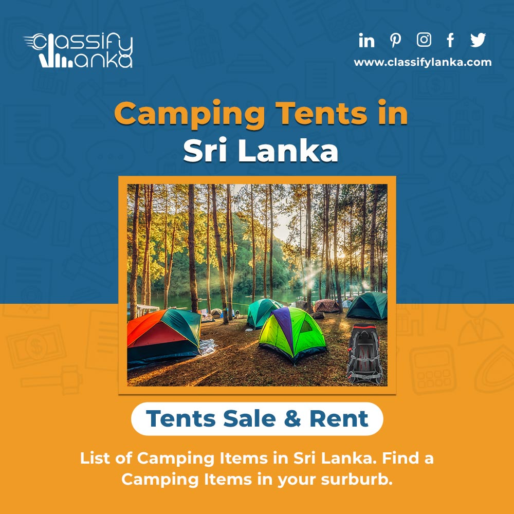 Camping Tents Sale & Rent