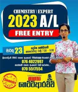 2023 A/L - CHEMISTRY Bhagya Hettiarachchi
