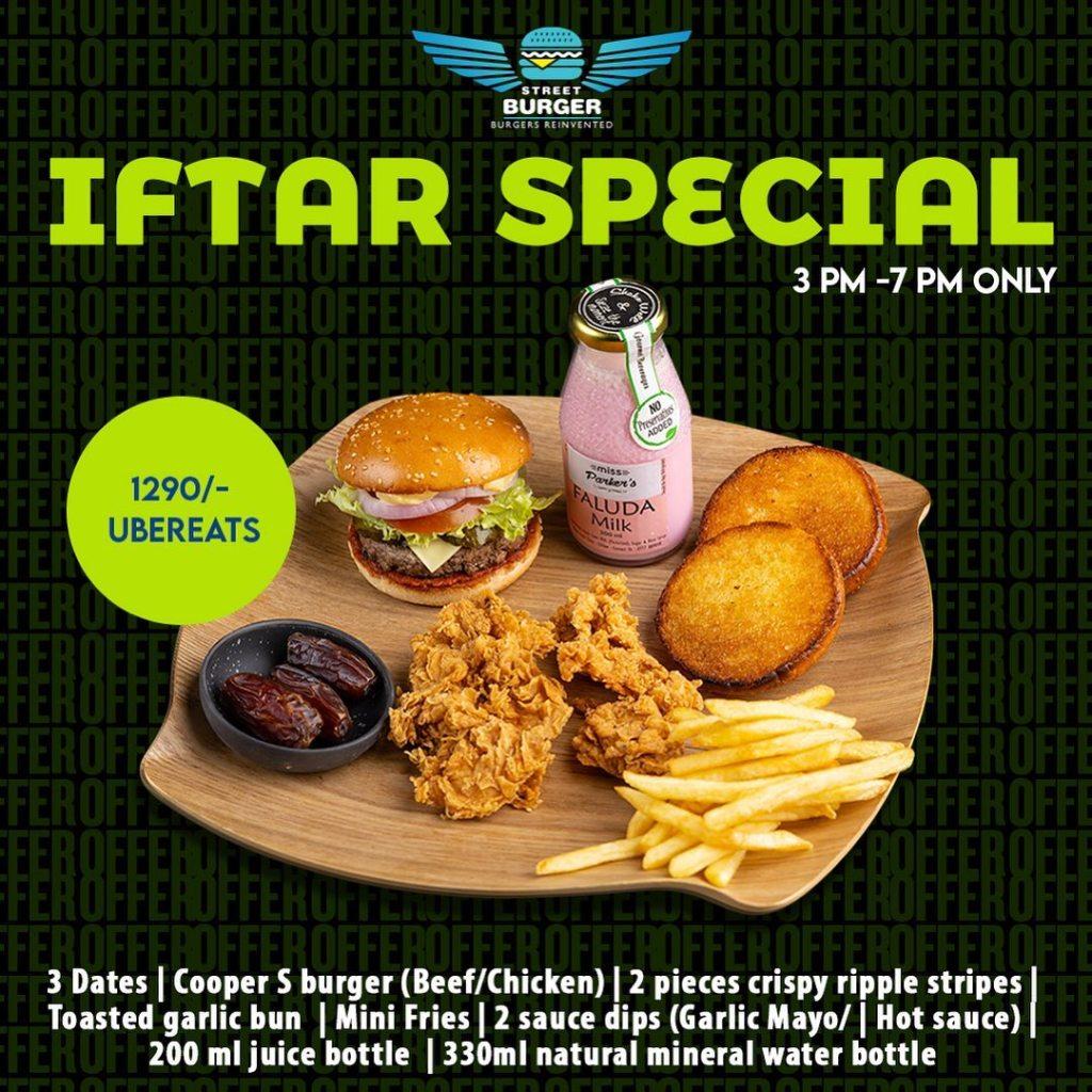 Street Burger Iftar Special 2