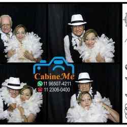 bodas de ouro cabine de fotos