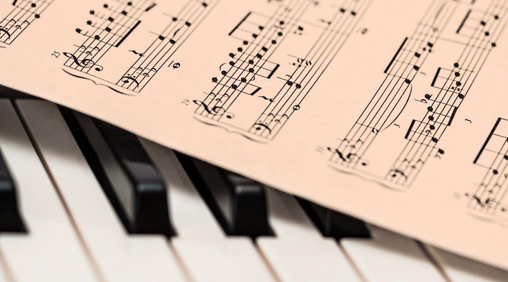 Partitions et piano