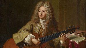 Marin Marais, compositeur baroque, et sa viole de gambe