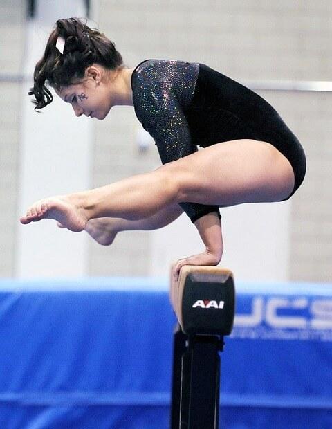 Justaucorps gymnastique