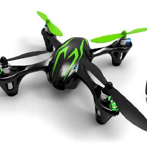 Hubsan X4 en photo