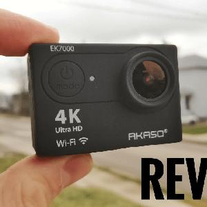 AKASO EK7000: Avis et Test Vidéo - Caméra sport