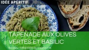 👨🍳Recette tapenade verte | olives vertes et basilic frais