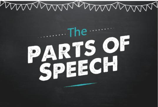 parts-of-speech english language classnotesng
