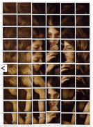 Mosaic of Sofia Coppola - by Maurizio Galimberti - www.mauriziogalimberti.it