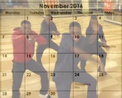 November Dlow Shuffle
