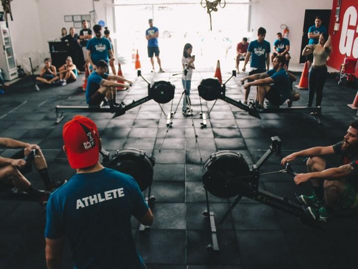 crossfit-rowing