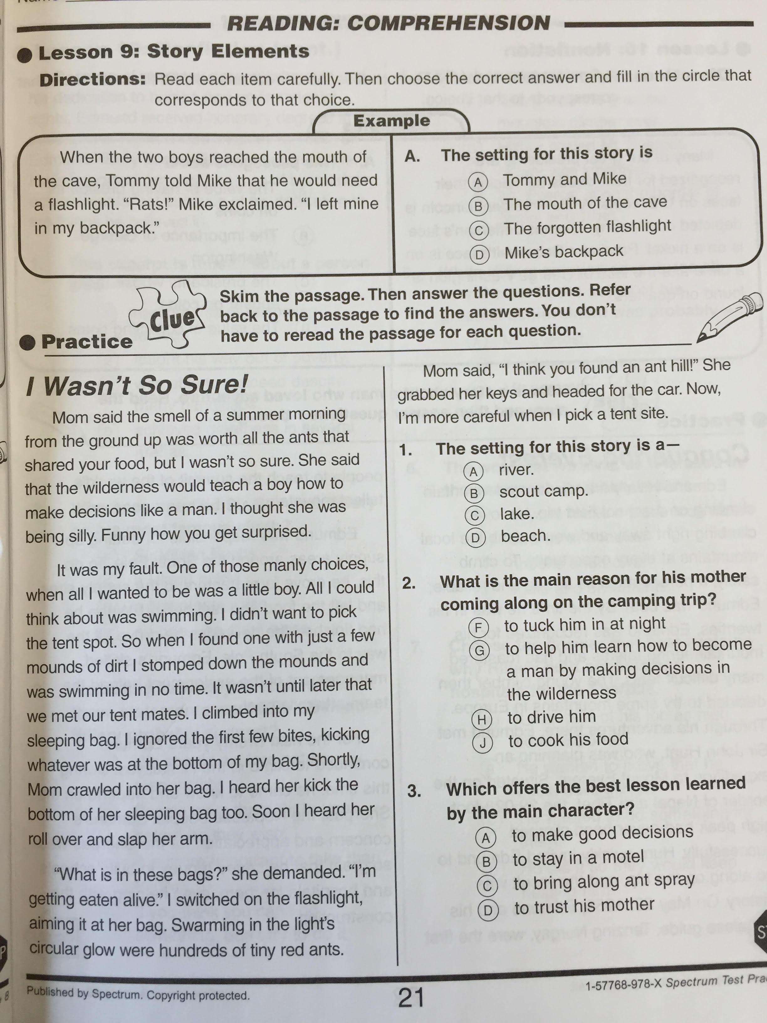 8th Grade Ela Lesson Plans