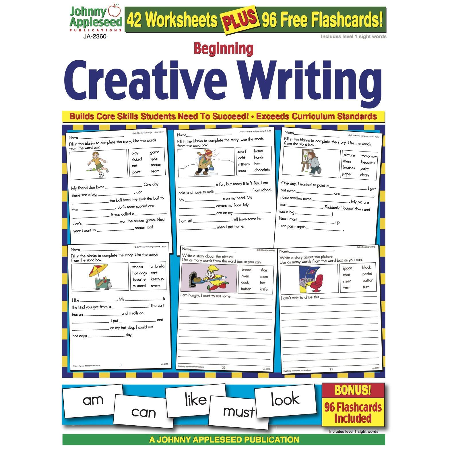 Beginning Creative Writing Workbook Grade 1 Digital Version