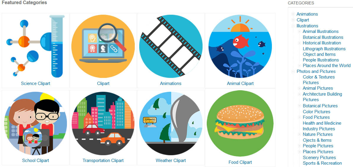 Classroom Clipart Members Pricing