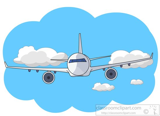 Aircraft Clipart- Commercial-aircraft-clipart-815