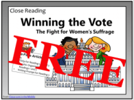 Close Reading - Winning the Vote, free